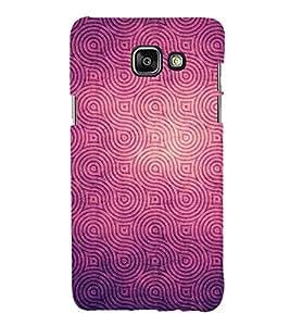 HiFi Designer Phone Back Case Cover Samsung A9 Pro :: Samsung A9 Pro Duos :: SamsungA9 Pro :: Samsung A9Pro ( Purple Royal Pattern Design )