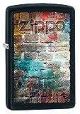 Zippo Sturmfeuerzeug 60002577 GRUNGE BRICK WALL - Black Matte - Zippo Collection 2017 -