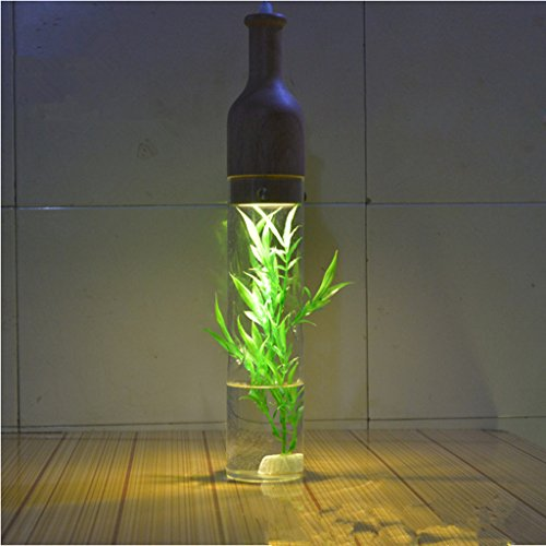 American Creative Glass Plants Vase Chandelier Individuality Restaurant Living Room Balcony Spotlight Pastoral Decoration Lighting Environment