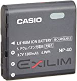 Casio Exilim NP-40 Long Life Lithium-Ion Rechargeable Battery