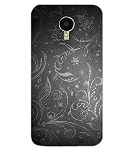 ColourCraft Beautiful Pattern Design Back Case Cover for MEIZU M3 NOTE