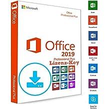 Microsoft® Office 2019 Professional Plus DOWNLOAD + LIZENZ KEY - E-Mail Versand - 32 / 64 Bit - 1 Aktivierung / 1 PC + Anleitung von U-S-B Unleashed-Shop-Bolt®