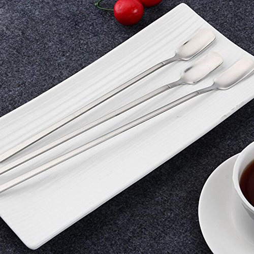 Alcoa Prime Stainless Steel 29cm Cocktail Drink Mixer Bar Puddler Stirring Spoon Ladle DIY Tool Bar Spoon Bar Tool Free Shipping XN462