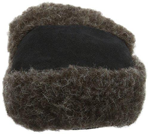 Woolsies Unisex-Erwachsene Staten Natural Wool Mule Hausschuhe Grey (Graphite Grey)