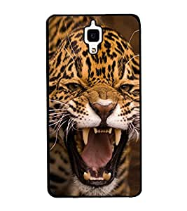 PrintVisa Raoaring Leopard High Gloss Designer Back Case Cover for Xiaomi Redmi Mi 4 :: Redmi Mi 4