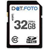 Dot.Foto Extreme SDHC 32Gb Class 10 (20Mb/s) Speicherkarte f�r Canon EOS 5D Mark III, EOS 5DS, EOS 5DS R, EOS 6D, EOS 60D, EOS 60Da, EOS 7D Mark II, EOS 70D, EOS 100D, EOS 450D, EOS 550D, EOS 600D, EOS 650D, EOS 700D, EOS 750D, EOS 760D , EOS 1100D, EOS 1200D, EOS 8000D / EOS C300 , EOS C300 PL, EOS C500, EOS C500 PL / EOS M, M2, M3