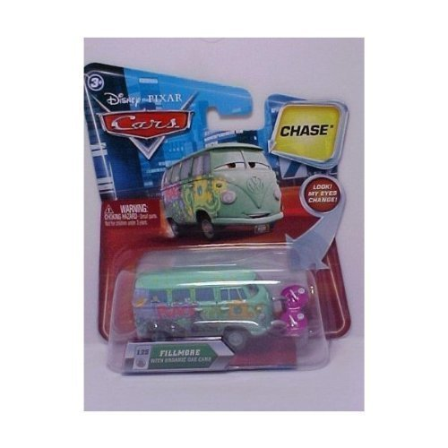 disney cars fillmore with organic gas cans chase car by MATTEL
