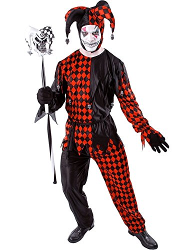 fnarr Kostüm Halloween Verkleidung Herren Kostüm Extra Large (Kostüm Des Bösen)