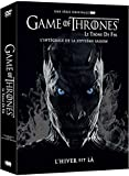 Coffret DVD Game of Thrones : Saison 7 : Dragonstone, Stormborn, The Queen's Justice, The Spoils of War, Eastwatch, Beyond the Wall et The Dragon and the Wolf