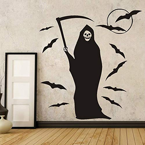 wandaufkleber Halloween Fledermaus Hexe Für Kinderzimmer Home Decor Art Hallowmas Dekoration