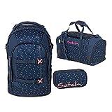 Satch Pack Schulrucksack Set 3tlg. (SchlamperBox und Sporttasche) (Pack Funky Friday)