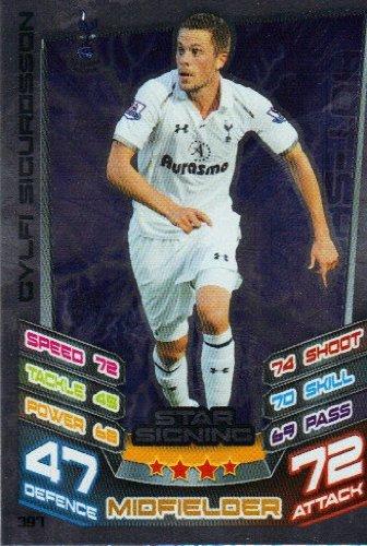 a563c9d94 Football Cards Match Attax 2012 2013 Star Signing Card – 397 Tottenham  Hotspur gylfi Sigurd