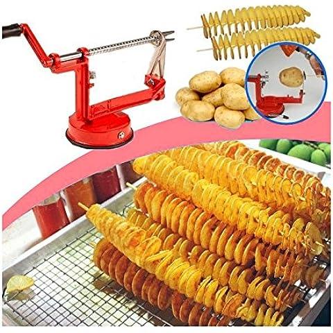 takestop Cortador en espiral Twister, corta patatas y fruta, práctico küchenutensil