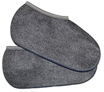 WOWERAT / 2 Paar Wowerat Stiefelsocken (sogenannte Roßhaarsocken), Spezialartikel, super warm, DEUTSCHE WARE 43/44,Grau