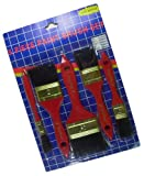 2 x PINSELSET IN ROT MALER PINSEL MALERPINSEL FLACHPINSEL PINSELSET