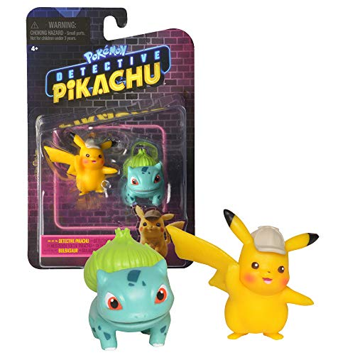 Detective Pikachu Battle Figure Pack Asst Detective Pikachu Battle Figure Pack Asst