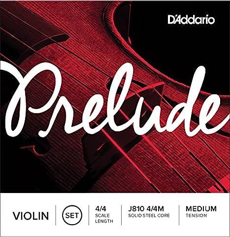 D'Addario Bowed Jeu de cordes pour violon D'Addario Prelude, manche