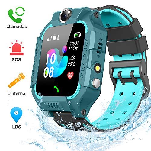BANLVS Smartwatch Niños, 2019 Nuevo Reloj Inteligente Niños con Flashlight, IP67 LBS...