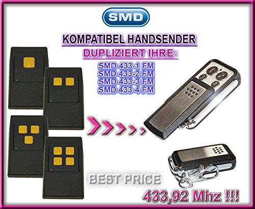 SMD 433-1 FM, 433-2 FM, 433-3 FM, 433-4 FM kompatibel handsender, klone fernbedienung, 4-kanal 433,92Mhz fixed code. Top Qualität Kopiergerät!!! - Torantriebe Control Board