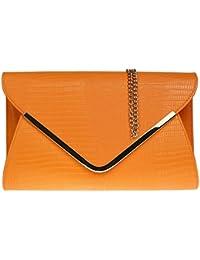 Amazon.co.uk: Orange - Handbags & Shoulder Bags: Shoes & Bags