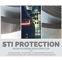 Etichetta Tappetino Protettivo in confezione doppia, protezione da parete, garage, Porta, portiere protezione per le auto porta alla parete del garage, previene Danni, universale protettiva antiurto STI Protection