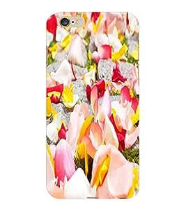 ColourCraft Flower Petals Design Back Case Cover for APPLE IPHONE 6 PLUS