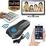 SO-buts Wireless Adapter/Spiegel Wifi Adapter/128M Wifi Display Player/1080p HD für Windows Mac OS PC/Booad, Android Telefon/Tablet, iOS iPad/iPhone. (Schwarz)