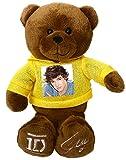 One Direction 52394-4 - Peluche 1D con Foto di Liam  sulla Maglietta e Autografo sul Piede, 23 cm