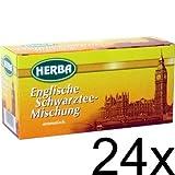 24er Pack Herba Englische Schwarztee-Mischung (24 x 20 x 1,5g)