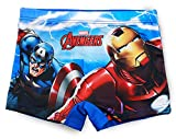 Marvel Avengers Jungen-Badehose/Boxershorts  Gr. 3 Jahre, blau