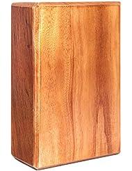 Bloque de yoga de madera »Bhavani«, bambú natural 100 %, tacto natural 100 %