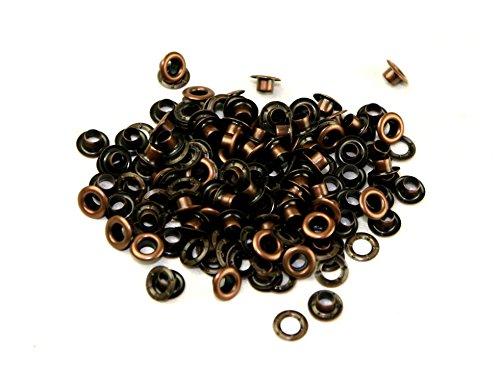 nbeads 180/pcs de vis Yeux 4/Tailles Assorties Fer /à vis en /œil Boulons avec 7/mm 8/mm 9/mm et 11/mm /œillets pour DIY Loisirs cr/éatifs Confection de Bijoux