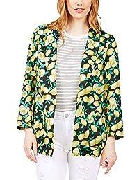 1f7ca14db Blazer Mujer Elegantes Moda Impresión Patrón Chaquetas Manga Larga De  Solapa Slim Fit Clásico Casuales Primavera Otoño Outerwear Abrigos…