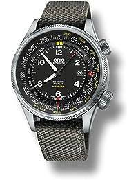 Oris Big Crown Propilot Herren-Armbanduhr 47mm Grau Automatik 73377054164LS15