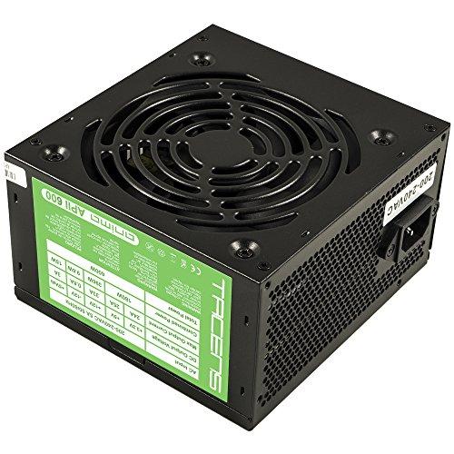 Anima APII600 Computer Netzteil (600 W, 12 V, 12 cm Lüfter, ATX, Anti-Vibration System) schwarz