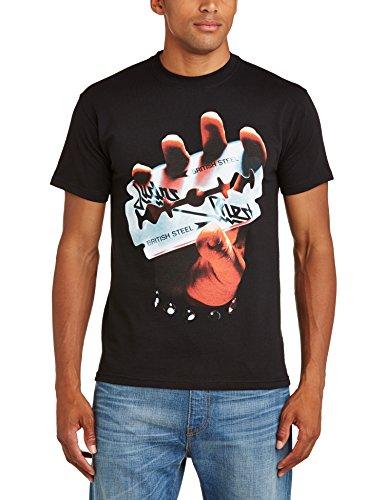 Rock Off - Maglietta, Manica corta, Uomo, nero (Black), 2XL