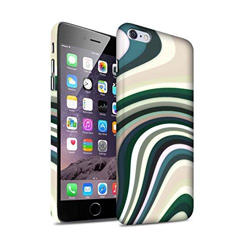 STUFF4 Matte Snap-On Hülle / Case für Apple iPhone 7 Plus / Flüssigkeit Wirbelt Muster / Modern Lebendig Kollektion Flüssigkeit Wirbelt