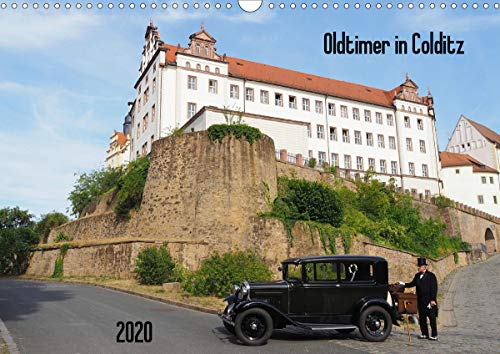 Oldtimer in Colditz (Wandkalender 2020 DIN A3 quer)