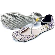 Vibram FiveFingers VI de S Women–Zapatillas con dedos para/Sandalias Beige/Royal Purple Talla:38 EU