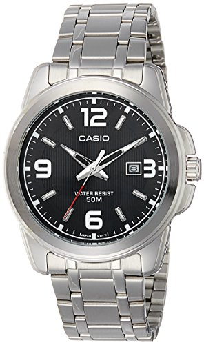 casio enticer analog black dial men's watch - mtp-1314d-1avdf (a550) Casio Enticer Analog Black Dial Men's Watch – MTP-1314D-1AVDF (A550) 51e8jMFThVL