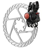 Avid BB5 MTB Black 160 mm G2CS Rotor (Front or Rear-Includes IS Brackets, Rotor Bolts)