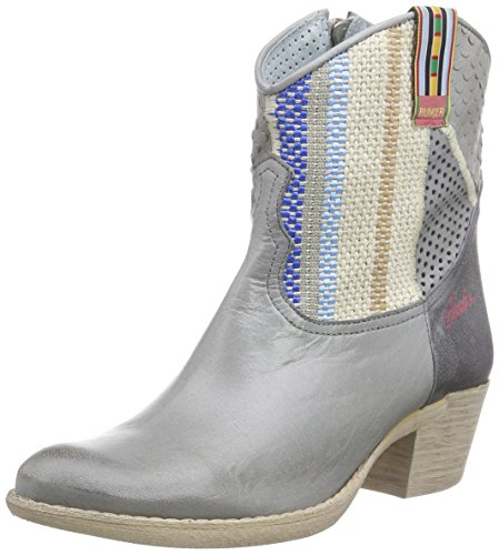 Bunker Booty, Chaussures bateau femme Bleu (JEANS SILVER)