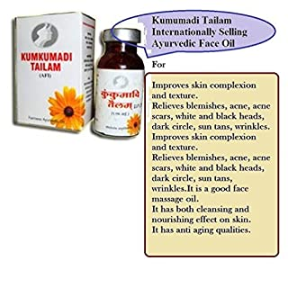 Artcollectibles India 1 Pack Of Ayurvedic Kumkumadi Face Oil Saffron For Effective Fairness Acne Blemish Free Glowing Skin