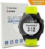 maxhood Garmin Forerunner 935Displayschutzfolie Glas, 9H Härte 0,3mm ultradünne 2.5d Round Edge gehärtetem Glas Displa
