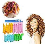 BOXO Women's Professional Salon and Home Use Hair Curlers Rollers Tools for Medium