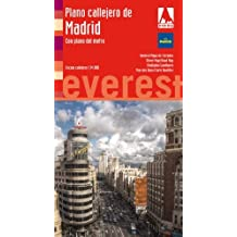Plano callejero de Madrid con plano del metro: Escala plano 1:14000 (Planos callejeros / serie roja)