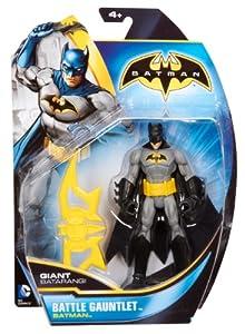 BATMAN - Figuras de acción, Pack Heroe Villano, Color Gris y Amarillo (Mattel X2295)