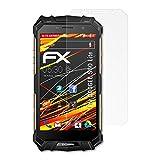 atFolix Schutzfolie kompatibel mit DOOGEE S60 Lite Bildschirmschutzfolie, HD-Entspiegelung FX Folie (3X)
