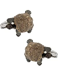 Painted Turtle Cuff Links in Presentation Box
