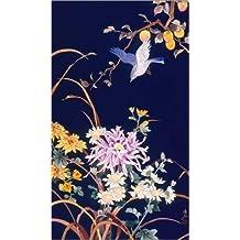Cuadro sobre lienzo 70 x 120 cm: Oriental Flowers & Bird de Haruyo Morita / MGL Licensing - cuadro terminado, cuadro sobre bastidor, lámina terminada sobre lienzo auténtico, impresión en lienzo
